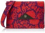 Covo Women's  Sling Bag  (Purple Floral)