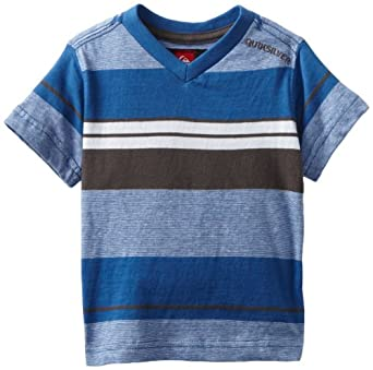 Quiksilver Baby-boys Infant Crowell V-Neck, Blue, 6-9 Months