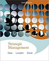 Strategic Management Text and Cases with Online by Dess