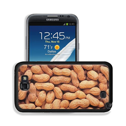 Whole Peanuts Scattered Shells Nuts Samsung Galaxy Note 2 Snap Cover Case Premium Leather Customized Made To Order Support Ready 6 Inch (152Mm) X 3 2/8 Inch (82Mm) X 4/8 Inch (13Mm) Luxlady Galaxy_Note_2 Professional Cases Touch Accessories Graphic Covers front-1019107