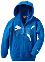 Puma - Kids Boys 2-7 Full Zip Originals Hoodie by Puma - Kids