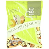 180 Snacks Trail Mix Crunch, Pistachio, 1.25-Ounce Bags (Pack of 10) by MarebluNaturals