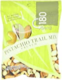 180 Snacks Trail Mix Crunch, Pistachio, 1.25-Ounce Bags (Pack of 10)