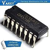 10PCS CD4521BE DIP16 CD4521 DIP New and Original IC