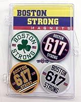 Boston Strong Teams 4-Piece Magnet Set