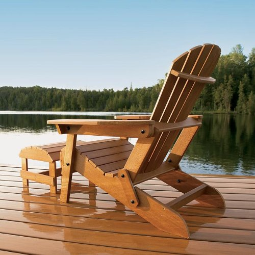 Chairs Patio Furniture Never paint Faux wood Adirondack Chair