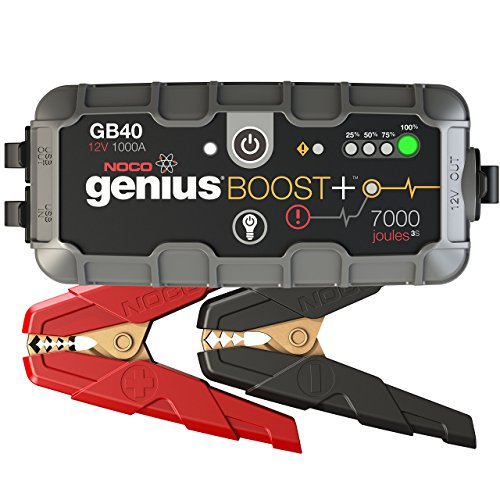 NOCO Genius Boost Plus GB40 1000 Amp 12V UltraSafe Lithium Jump Starter (Lithium Jump Starter Battery compare prices)