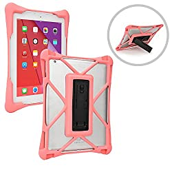 Cooper Cases(TM) Trooper Apple iPad 1 / 2 / 3 / 4 Drop Proof Rugged Case in Pink (Patent Pending Ultraslim Body, Reinforced Corners, Open Rear-Camera, Kickstand)