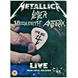"The Big Four: Live From Sonisphere / Sofia Bulgaria (Ltd. Digipack) [Limited Edition] [2 DVDs]von ""Metallica"""