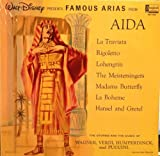famous arias from aida LP