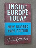 Inside Europe Today (0241902819) by Gunther, John