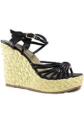 G2 Chic Women's Strappy Wedge Sandals