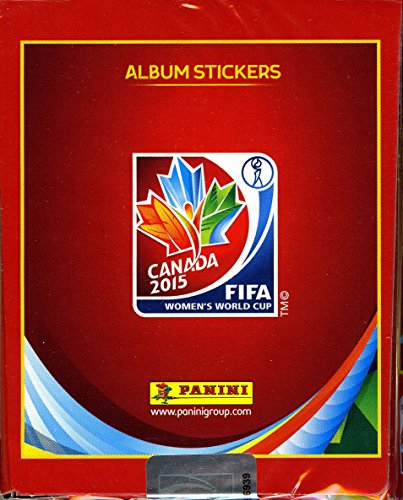2015 Panini FIFA Women's World Cup Soccer Canada MASSIVE 50 Pack Factory Sealed Sticker Box !