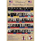 Presidents of the United States Educational Poster
