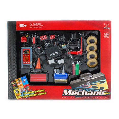 MECHANIC-ACCESSORIES-SET-HOBBY-GEAR-G-124-SCALE-MODEL-TRAIN-CAR-ACCESSORIES-18415-japan-import-by-Phoenix-toys