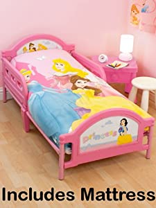 Disney Princess Toddler Bed and Foam Mattress Wishes IN STOCK NOW
