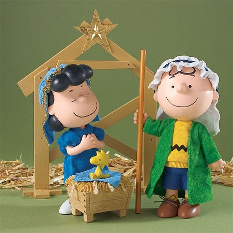 Possible dreams charlie brown s xmas play nativity set from possible