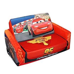 Disney Pixar 39 S Cars The Movie Flip Open Slumber Sofa