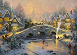 Gibsons Thomas Kinkade Spirit of Christmas jigsaw puzzle. (1000 pieces)