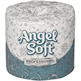 Georgia-Pacific Angel Soft Professional Series 16840 White 2-Ply Premium Embossed Bathroom Tissue