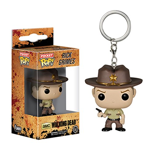 Rick Grimes The Walking Dead Pocket POP! Portachiavi