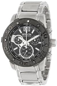 Invicta 10591 - Reloj de pulsera hombre, acero inoxidable, color plateado