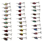 30 Spinner Super New Fishing Spoons Lure Pike Salmon Bass