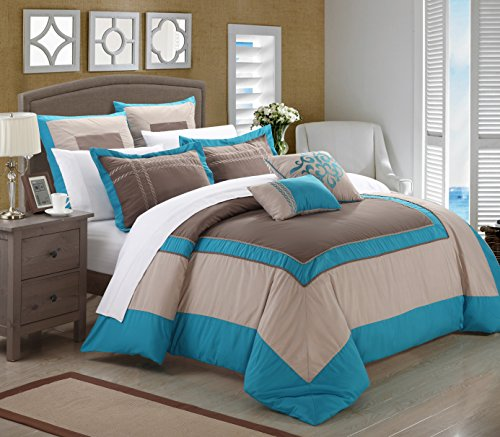 Grey And Green Bedding 1188 front