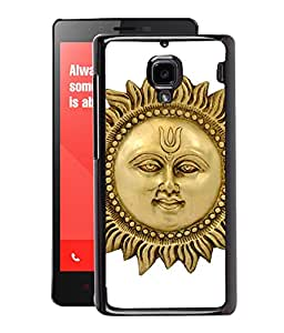 Fuson 2D Printed Lord Sun Designer Back Case Cover for Xiaomi Redmi1S - D555