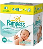 Pampers Sensitive Wipes 21x Box (1344 Count) , Pampers -ku