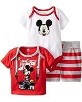 Disney Baby-Boys  Mickey Mouse 3 Piece Set