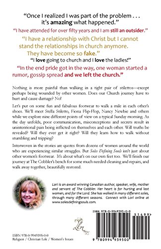 Soles Defining Souls: Walking in the Shoes of Different Church Ladies . . .  and Those Who Left