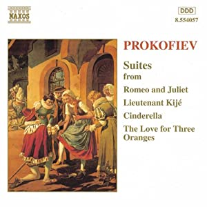 Prokofiev Orchestral Suites from Naxos