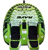Rave Sports Warrior 2 Recumbent Style 2 Person Towable Ski Tube
