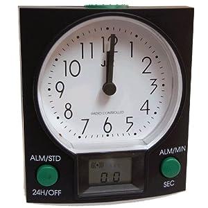 Despertador Jaz G-5682 Radio Contrololado Luz Repeticion por Jaz
