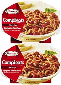 Hormel Microwavable Compleats Spaghetti with Meat Sauce 10 oz