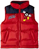 Disney Mickey Mouse Nh1069 - Chaleco para niños, color red (true red/blue), talla 8 años