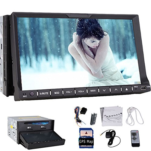 LCD Pupug coches Lecteur DVD Electrš®nica GPS 2 Din unidad del principale coche Multi-Media Player VidšŠo PC del Coche de la radio CD stšŠršŠo ršŠcepteur TV Player 7 pulgadas HD tš&