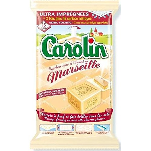carolin-lingettes-sols-ultra-impregnees-fraicheur-savon-de-marseille-x15-envoi-rapide-et-soignee-pri