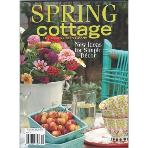 download spring cottage magazine style with fresh charm
