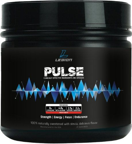 LEGION Pulse Pre-Workout: Smooth Rush énergie.