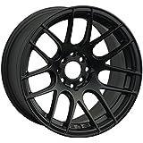 XXR 530 18 Flat Black Wheel / Rim 5x100 & 5x4.5 with a 20mm Offset and a 73.1 Hub Bore. Partnumber 53088542