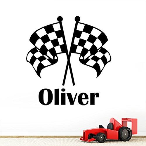 personalizzato-bandiera-a-scacchi-da-ragazzo-modello-grand-prix-nome-adesivi-da-parete-per-bambini-c