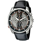 Casio Men's EFR-533L-8AVCF EDIFICE Analog Display Quartz Black Watch