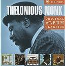 Original Album Classics : Straight No Chaser / Underground / Criss Cross / Monk's Dream / Solo Monk (Coffret 5 CD)