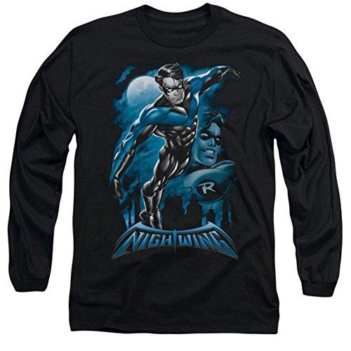 Batman Nightwing: All Grown Up Long Sleeve T-Shirt