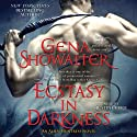 Ecstasy in Darkness: Alien Huntress, Book 5 (       UNABRIDGED) by Gena Showalter Narrated by Justine Eyre