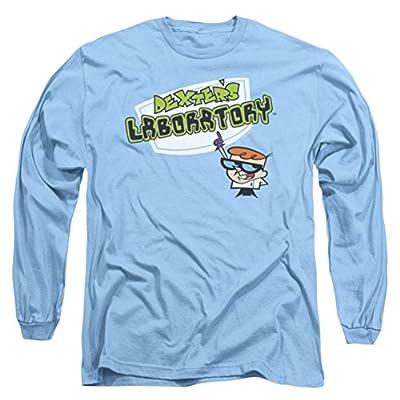 Dexter's Laboratory Title Logo Long Sleeve T-Shirt
