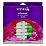 Reeves Assorted 22ml Oil Paint, 20-Pack