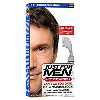Just for Men Auto Stop Men's Hair Color, Medium Dark Brown